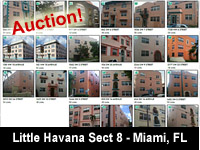 Real Estate Auction - Little Havana Investment Portfolio - Sect 8 Housing - Miami FL - Interstate Auction Co.